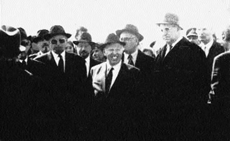 Делегация евреев германии в берген