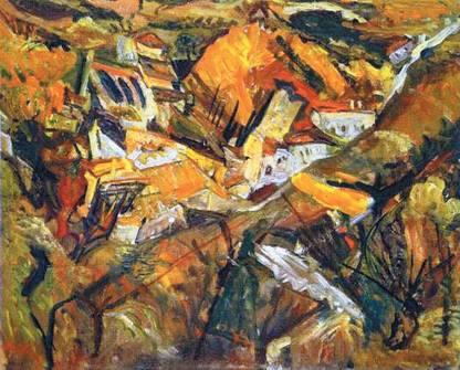 Пейзаж в литературе и живописе